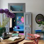 Eine farbenfrohe Vintage-Wohnung in Moskau